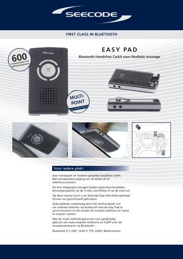 Easy Pad - AA-Equipment