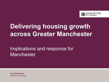 Title of Powerpoint slide show goes here - Manchester Strategic ...
