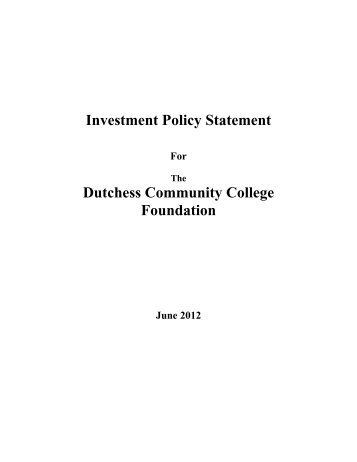 Club Equity Policy Statement Template