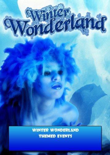 Winter Wonderland Themed Events
