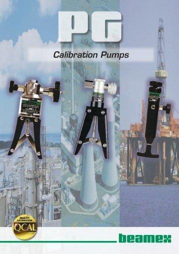 Beamex Calibration pumps - Delta Strumenti S.r.l.