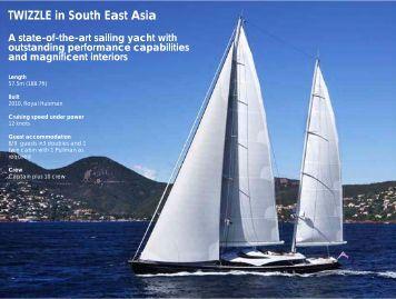 S/Y Twizzle - Paradise Yacht Charters