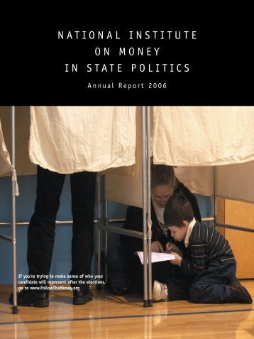 Annual Report 2006 - Follow The Money