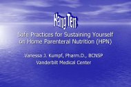 Safe Practices for Sustaining Yourself on Home Parenteral Nutrition