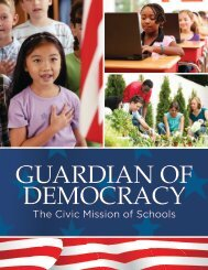 The Civic Mission of Schools - Carnegie Corporation of New York