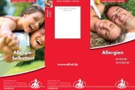 Allergie- Selbsttest Allergien Allergien - Aliud Pharma GmbH & Co. KG