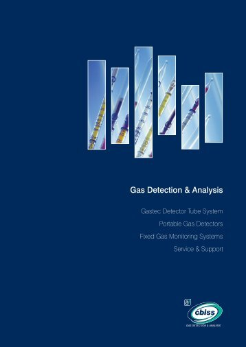 Gas Detection & Analysis Brochure - Offshore Europe