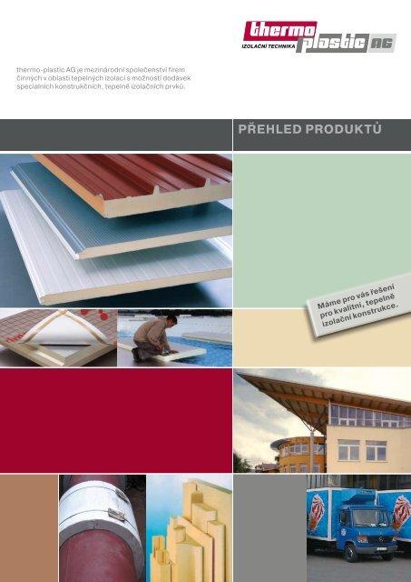 PŘEHLED PRODUKTŮ C. Občanská výstavba - thermo-plastic GmbH
