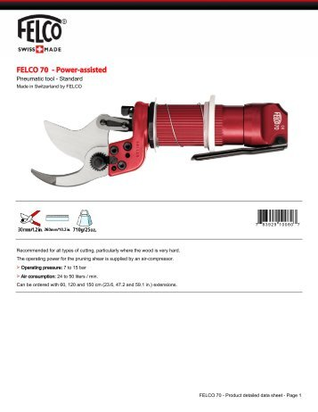 FELCO 70 - Power-assisted