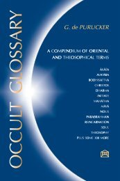 Occult Glossary - The Theosophical Society