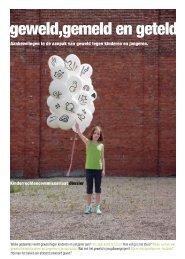 Dossier geweld gemeld en geteld - Kinderrechtencommissariaat
