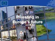Cohesion Policy - ES fondi