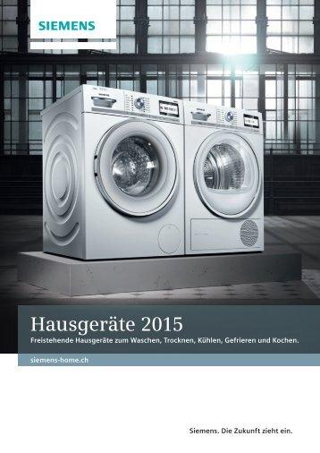 Hausgeräte 2015