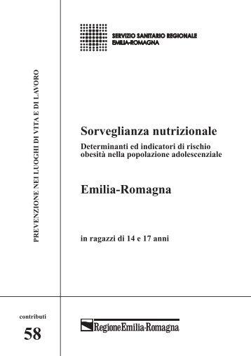 Sorveglianza nutrizionale Emilia-Romagna - Saluter
