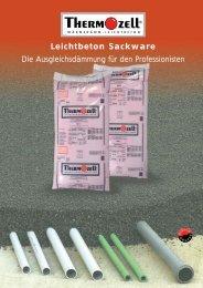 Leichtbeton Sackware - Thermozell Entwicklungs