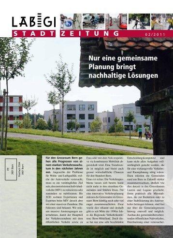 Nur eine gemeinsame Planung bringt nachhaltige ... - Läbigi Stadt