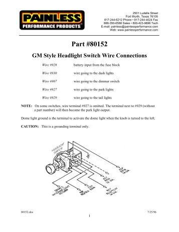 Painless Wiper Switch Wiring Diagram - Wiring Diagram Update on painless wiring edelbrock, painless wiring harness chevy, painless wiring willys,