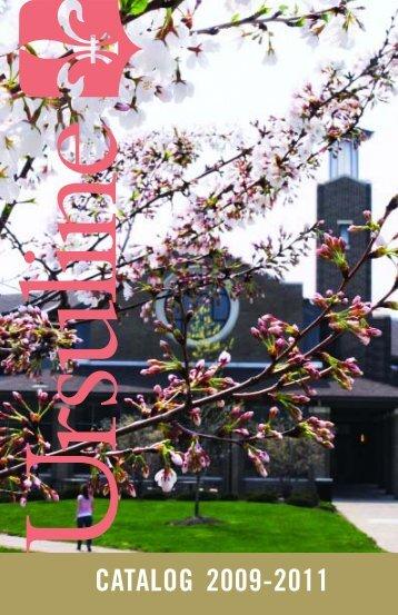 Graduate Catalog (.pdf) - Ursuline College