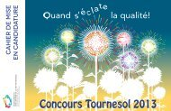 Concours Tournesol 2013 - Rcpeqc.org