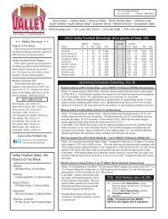 Weekly Notebook (PDF) - Missouri Valley Conference