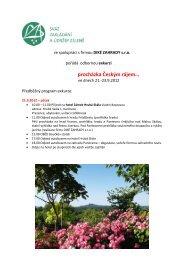 procházka Českým rájem… - Svaz zakládání a údržby zeleně