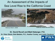 An Assessment of the Impacts of Sea Level Rise - California Coastal ...