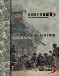Army's 2012 release of SBIR - Active Signal Technologies