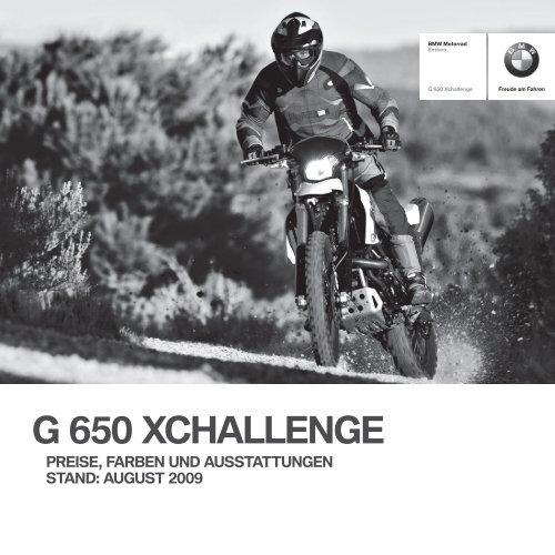 G 650 XCHALLENGE - BMW Motorrad International