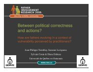 Between Political Correctness and Actions (Paper Presentation) - FIRA