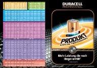 Duracell IEC Energizer/Ucar Varta Kodak Panasonic Rayovac ...