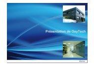 Présentation de OxyTech - Rv11 280812-FR