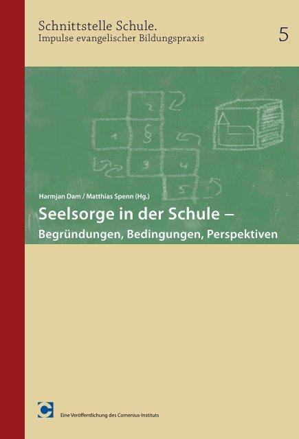 Seelsorge in der Schule − - Comenius-Institut