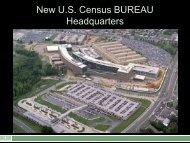 New U.S. Census BUREAU Headquarters - CMAA