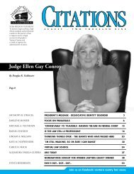 Judge Ellen Gay Conroy - Ventura County Bar Association