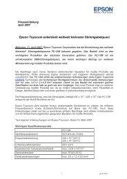 Epson Toyocom entwickelt weltweit kleinsten Stimmgabelquarz