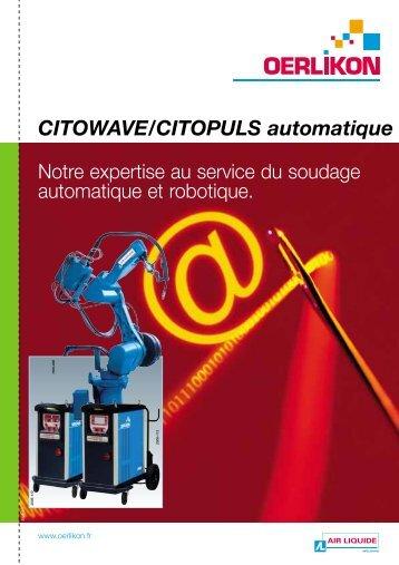 CITOWAVE/CITOPULS automatique - Oerlikon Servicios > Welding ...