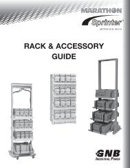 RACK & ACCESSORY GUIDE - Exide Technologies