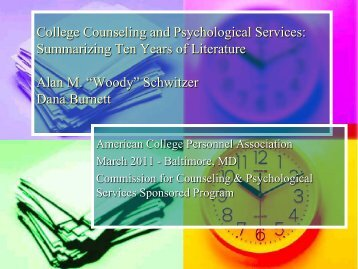 College Counseling and Psychological Services - Darden College ...