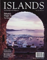 ISLANDS Magazine June 1986