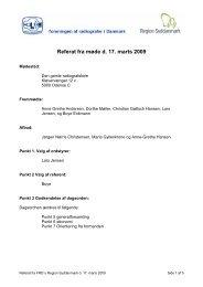 Referat d. 17. marts 2009