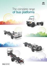 Bus Chassis Leaflet - Buses - Tata Motors