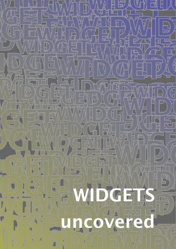 WIDGETS uncovered - Pragma ADE