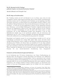 Policy Brief_Falkenhain, Venet 2010 - Deutsch-Französischer ...