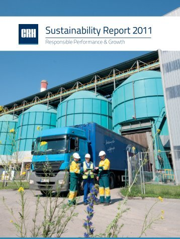 Sustainability Report 2011 - CRH