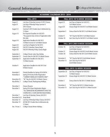 Printer-friendly 2013-2014 Academic Calendar (PDF)