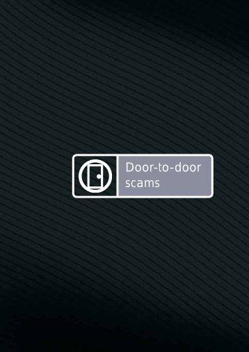 Door-to-door scams - Knox Business Direct