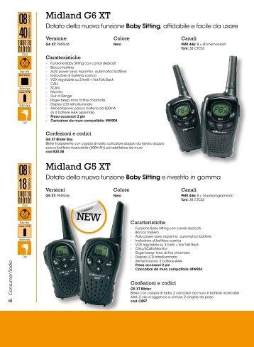 Midland G6 XT Midland G5 XT - Thiecom