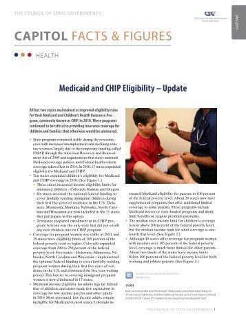 Medicaid and CHIP Eligibility - Update - CSG Knowledge Center