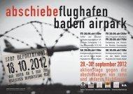 Flugblatt - Aktion Bleiberecht