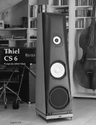 CS6R-Image Hi Fi/Germany - Thiel